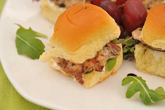 Chicken slider - Gallery