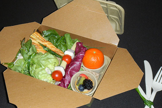 Salad to go container - Gallery