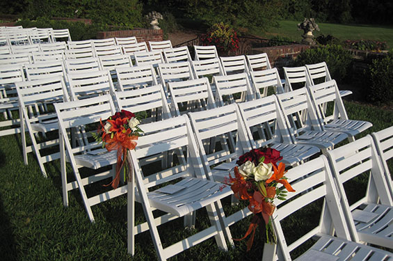Seats at wedding - Gallery