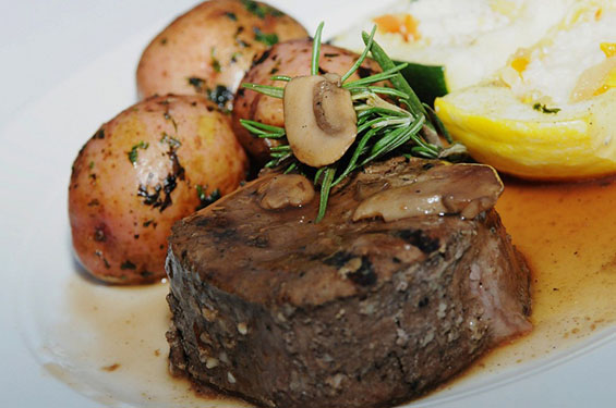 Steak and potatoes - Gallery