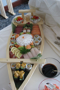 Sushi boat - Gallery